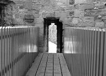Beaumaris Bridge: Patterns in Black and White