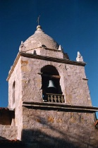 Carmel Mission - Clear Blue Skies