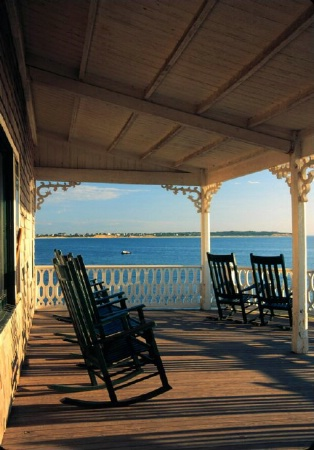 Porch on Block Island