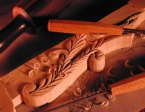 November 2000 Photo Contest First Place Winner - Wood Carving