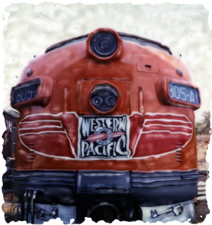 August 2001 Photo Contest Grand Prize Winner - Red Engine