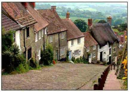 Gold Hill, Shaftesbury, U.K