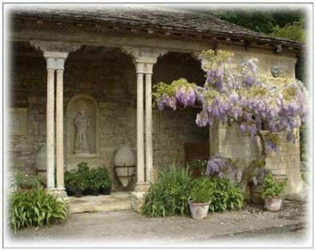 Iford Manor Gardens, Near Bath, U.K.
