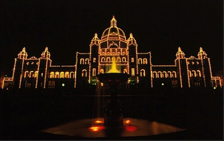 Parliment at Night II