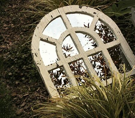 Trashed Mirror