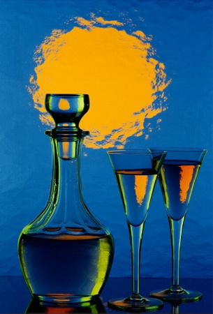 October 2001 Photo Contest Second Place Winner - Colourful Glas