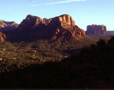 Sunset on Sedona, AZ