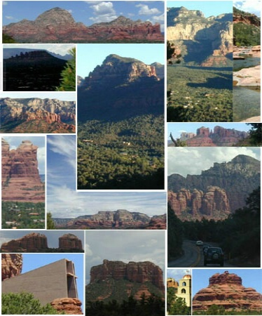 Collage of Sedona