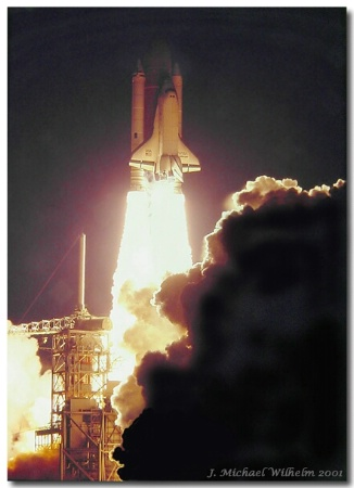 Dawn Launch of Challenger