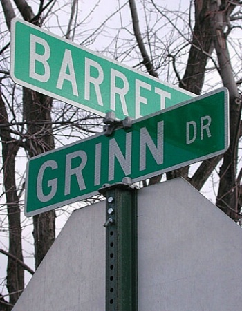 Grinn and Barret