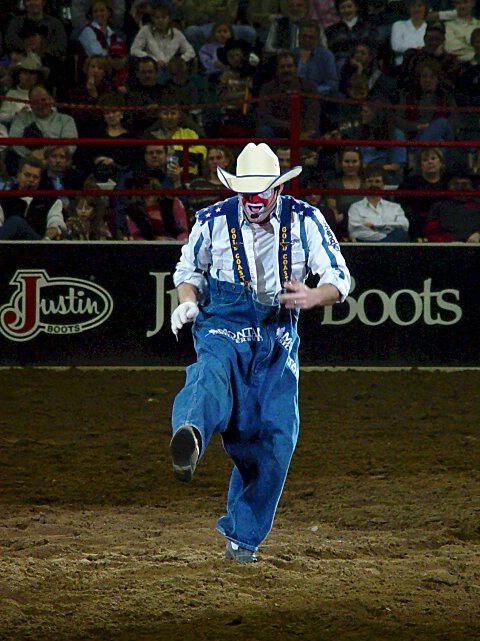 Flint Rasmussen-PRCA 2001 Rodeo Clown Of The Year