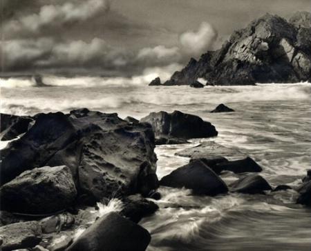 Splash at Big Sur