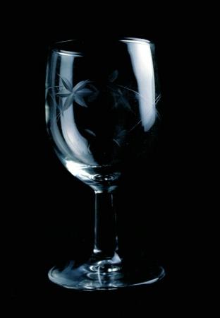 Crystal goblet study