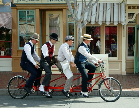 Bicycle Built for 4