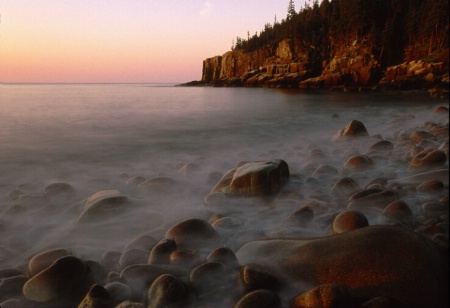 Boulder Beach at dawn