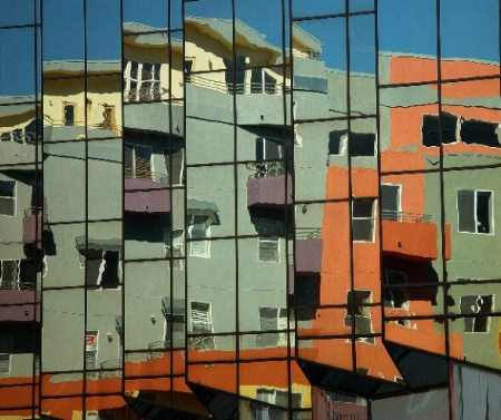 Little Italy in Reflection