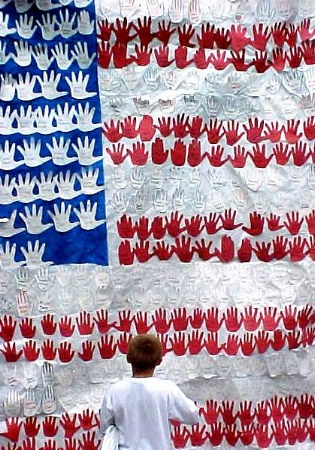 Flag of Hands