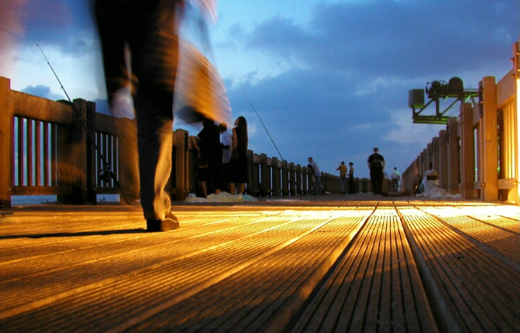 WALK ON THE PIER
