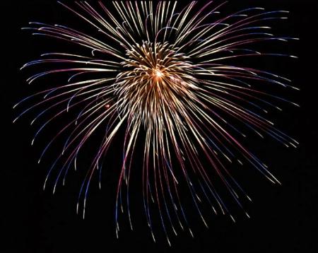 Fireworks on the Fourth -- McKinney, TX