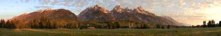 Tetons - Morning Light