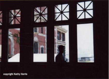 A quiet moment at Ellis Island