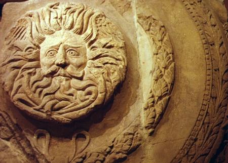 Sun Bas Relief