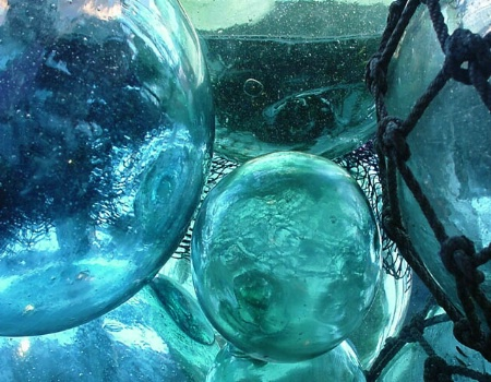 Old Glass Floats