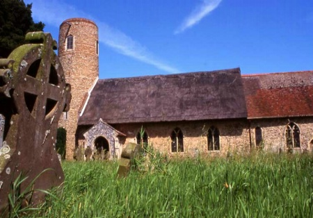 Barsham Church, England
