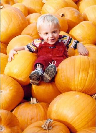 Joshua, My Little Punkin