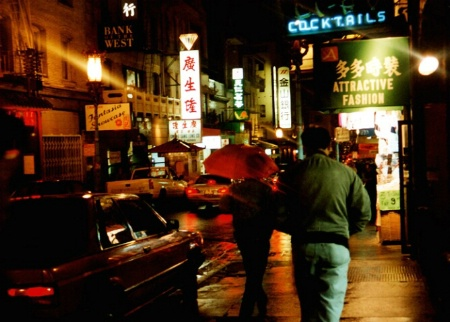 Rainy Night in Chinatown