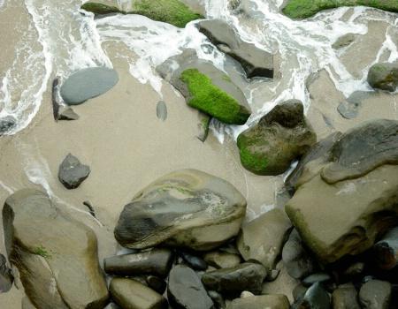 Rocks, Sand and Sea