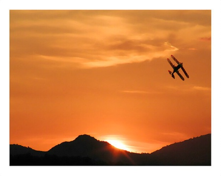 A Biplane