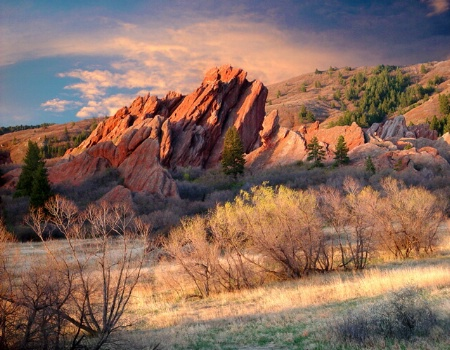 Rock Formation at Roxborough Park Colorado