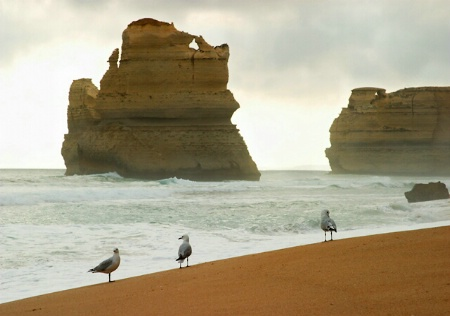 Stormy weather at the 12 Apostles