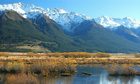 *Autumn colours, Glenorchy, New Zealand.