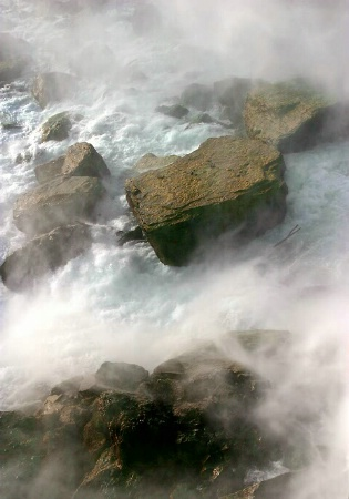 Rocks in the Mist