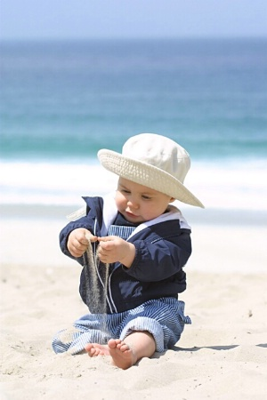 The Little Man Discovers Sand