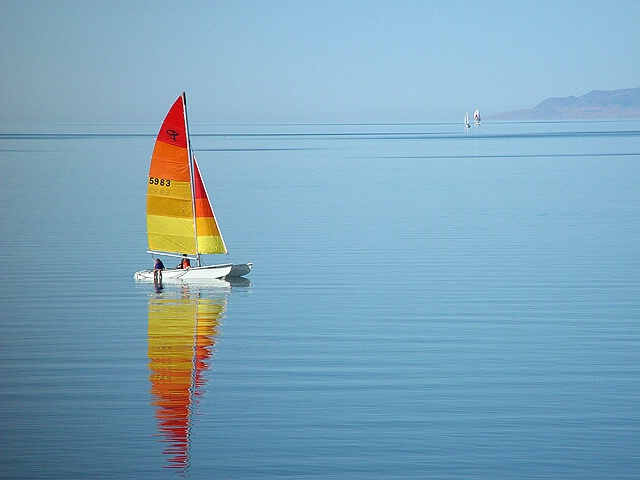 Sailing Salt Lake