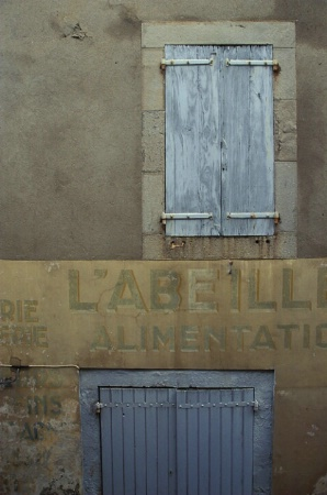 Labeille Blue Shutters