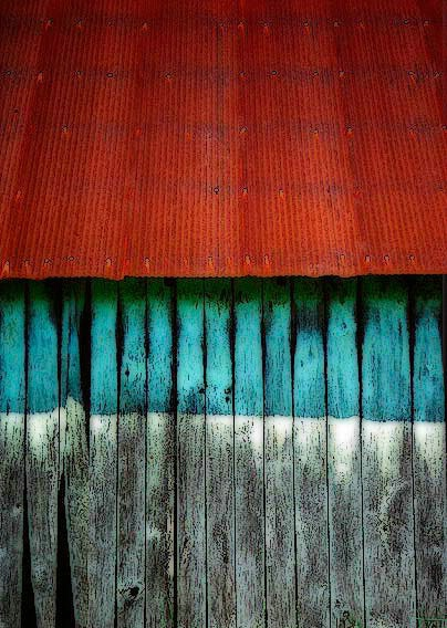 A Barn  Colors and Textures