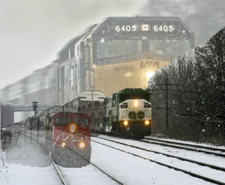 Ghosts of Trains Past & Present