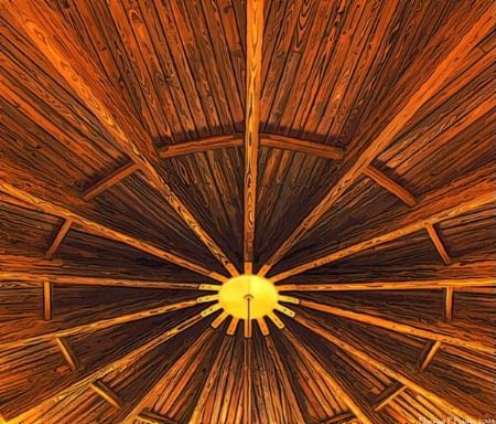 Brass Sun... Wooden Universe!
