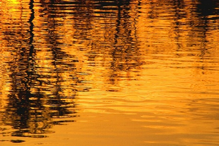 Sunset Reflections at Isaac Lake