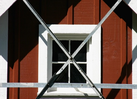 Milkhouse Window