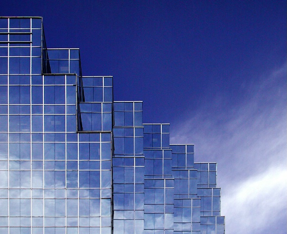 Stairstep Cloud Reflections