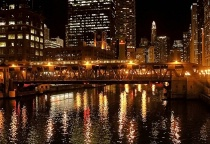 Chicago River At ...