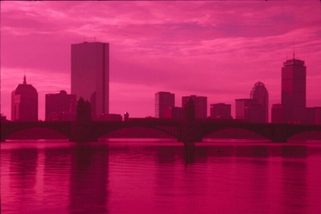 Boston in Magenta