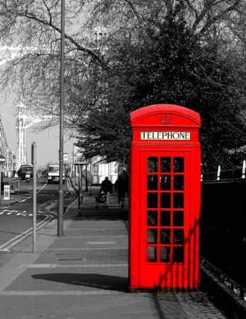 Phoning from London