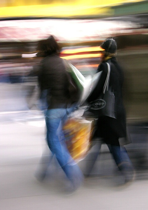 Shopping Blur