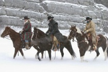 Three Ranchers in the Storm